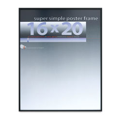 Framatic Super Simple Poster Frame - Black, 16'' x 20''