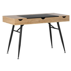 Studio Designs Nook Desk - Ashwood w/ Graphite Legs