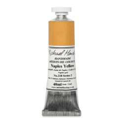 Michael Harding Artists Oil Color - Naples Yellow, 40 ml tube