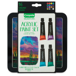 Crayola Signature Acrylic Set of 16