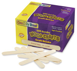 Jumbo Craftsticks, Box of 500