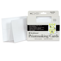 Strathmore Printmaking Cards and Envelopes - 5'' x 6-7/8'', Pkg of 10