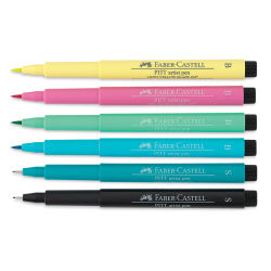 Faber-Castell Pitt Artist Pen - Lettering Set, Be Unique, Set of 6