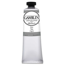 Gamblin Artist's Oil Color - Silver, 37 ml tube