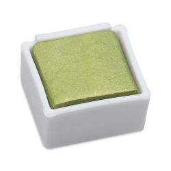 Derwent Watercolor Pan - Metallic Lime Gold