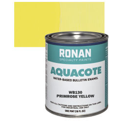 Ronan Aquacote Water-Based Acrylic Color - Primrose, Pint