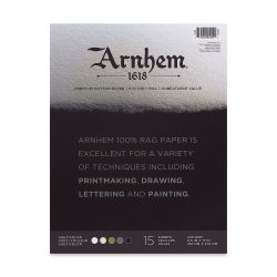 "Arnhem 1618 Paper Pads by Speedball - Assorted Colors, 8-1/2"" x 11"""