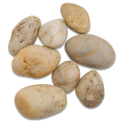 River Rocks - Assorted Earth Tones, 2.2 lb