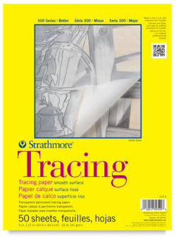 Tracing Paper Pad, 50 Sheets
