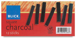 Charcoal, Set of 12 Outside of Package