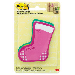 3M Post-it Holiday Gift Tag Notes - Pkg of 2