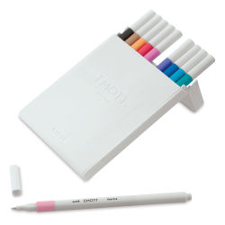 Uni Emott Fineliners - Set of 10, Set 2