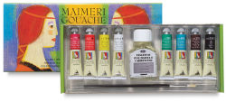 Maimeri Artist Gouache Intro Set - Set of 8 Colors, 20 ml tubes