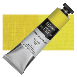 Cranfield Artists' Oils - Bright Yellow Lake, 40 ml, Tube