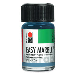 Marabu Easy Marble - Grey Blue, 15 ml
