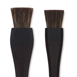 Yasutomo Lacquered Handle Hake Brush - 1''