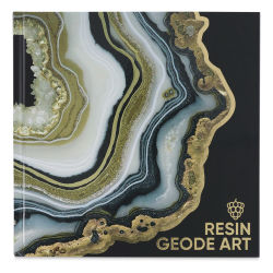 Colorberry Resin Geode Art, Book Cover