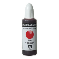 Vallejo Liquid Watercolor - Crimson, 32 ml
