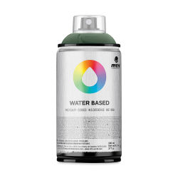 MTN Water Based Spray Paint - Gray Green Dark, 300 ml Can