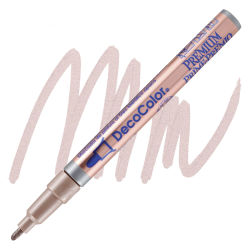 DecoColor Premium Paint Marker - Rose Gold, Bullet Tip, 2 mm