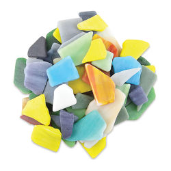 Tumbled Glass Pieces - Variety, 20 oz