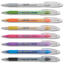 Pentel Sparkle Pop Pens - Set of 8