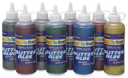 Creativity Street Glitter Glue Classroom Set - 4 oz, Set of 8
