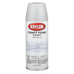 Krylon Craft Foam Primer - Light Gray, 12 oz can