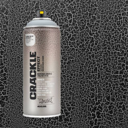 Montana Crackle Effect Spray - Squirrel Grey, 11 oz (Spray can with swatch)