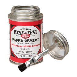 Best-Test Acid-Free Paper Cement - 4 oz