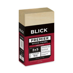 Blick Premier Wood Panel - 3'' x 5'', 1-1/2'' Gallery Profile, Cradled
