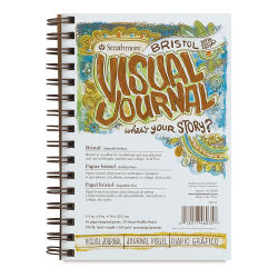 Strathmore Visual Journal - 8'' x 5 1/2'', Bristol (Smooth), 28 Sheets