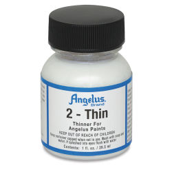 Angelus Leather Paint - 1 oz, 2-Thin (Clear)