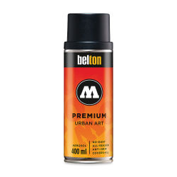 Molotow Belton Spray Paint - 400 ml Can, Deep Black