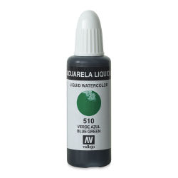 Vallejo Liquid Watercolor - Blue Green, 32 ml