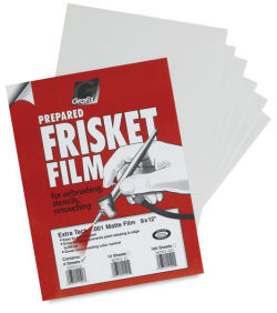 Frisket Film, Pkg of 6 Sheets