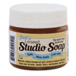 Richeson Jack's Linseed Studio Soap - 1.25 oz bottle