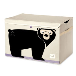 3 Sprouts Toy Chest  - Bear