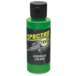 Badger Spectra Tex Airbrush Color - 2 oz, Transparent Kelly Green