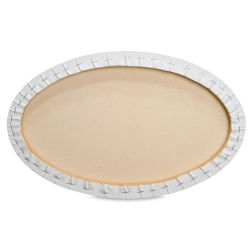 Masterpiece Pro Stretched Oval Canvas - 5'' x 7'', 3/4'' Profile