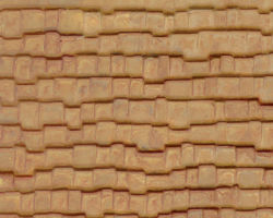 Plastruct Patterned Sheets, Wood Shake Shingle, 1:48 Scale