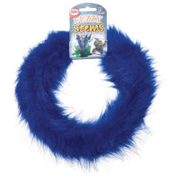 Pepperell Craft Fuzzy Stems  - Royal, 9 ft