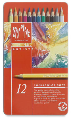 Aquarelle Pencils, Set of 12