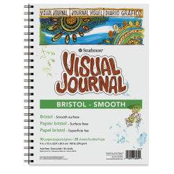 Strathmore Visual Journal - 12'' x 9'', Bristol (Smooth), 28 Sheets
