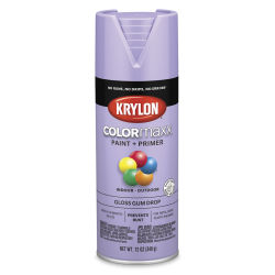 Krylon Colormaxx Spray Paint - Gum Drop, Gloss, 12 oz