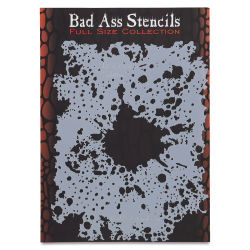 Graftobian Bad Ass Airbrush Stencil - Splatter