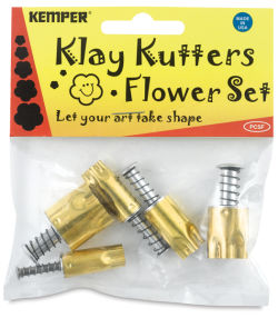 Set of 5 Cutters, Flower