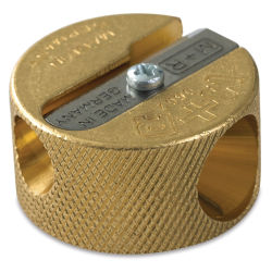 Mobius & Ruppert Grenade Brass Pencil Sharpener - Double Hole