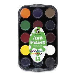 Richeson Art Paint Sets - Set of 15, Assorted Colors, .4 oz