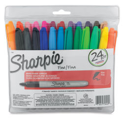 Sharpie Fine Point Marker Set - Assorted Colors, Set of 24